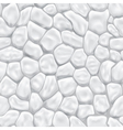 Seamless pattern of stones vector image
