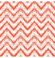 Zigzag pattern in tropical colors vector image