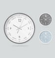 clock face dial plate vector image