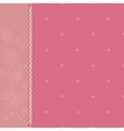 polka dot pink vector image