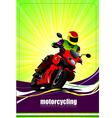 al 0732 moto vector image vector image
