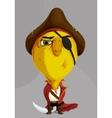 Cartoon pirate vector image vector image