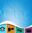 UI design trend set icons vector image