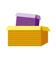 Paper Box vector image
