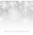 Abstract Gray Technology Glow Background vector image