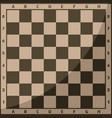 chess board and chessmen background leisure vector image