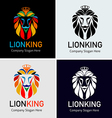 Lion King vector image