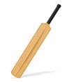 cricket bat 05 vector image vector image