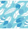 bird feathers seamless pattern vector image