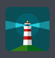 lighthouse concept background cartoon style vector image
