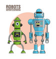 robots machinery technology image vector image