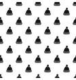 woolen hat pattern vector image