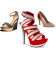 al 0737 shoes vector image vector image