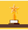 Star award icon vector image vector image