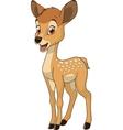 Funny baby deer vector image