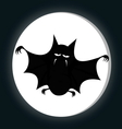 Funny freaky bat vector image
