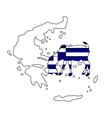 Greek he-goat vector image