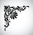 Decorative vintage design element 2 vector image