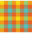 Popart check plaid seamless pattern vector image