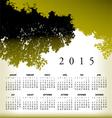 2015 cal Tree Landscape vector image