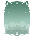 Christmas poster 02 vector image