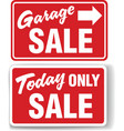 garage arrow vector image