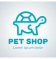 Petshop Logo 2 vector image