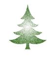 abstract polka-dot green stipple vector image