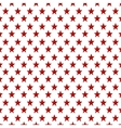 pattern stars background icon vector image