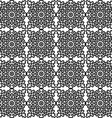 seamless pattern with national Russian lace black vector image
