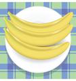 yellow bananas vector image