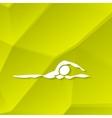 Swimmer Icon Swimming Icon vector image