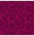 Seamless purple vintage pattern vector image vector image