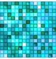 Bright shiny seamless mirror mosaic vector image