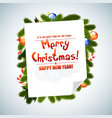 Christmas Messages vector image