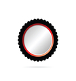 button color vector image