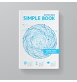 Book Template vector image vector image