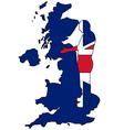 British handshake vector image