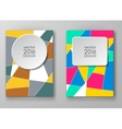 Set of abstract design templates vector image