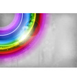 background rainbow vector image