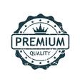 Premium Grunge Stamp vector image