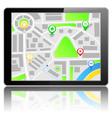 GPS Navigation System vector image
