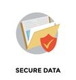 Folder Safety vector image