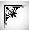 decorative vintage design element 5 vector image