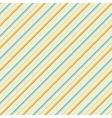 Vintage diagonal stripe seamless pattern tiling vector image vector image