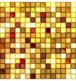 Bright shiny seamless mirror mosaic vector image