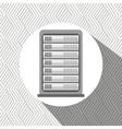 data center design vector image