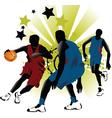 game basketball vector image