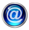 Eps10 Email Button vector image