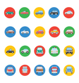Transports Icons 1 vector image